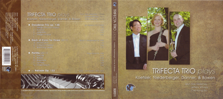 CD Trifecta Trio Plays - 2014